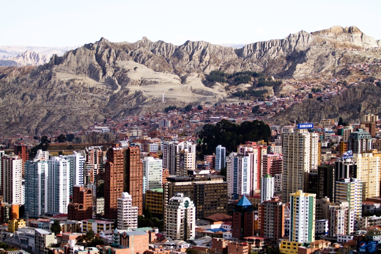 La Paz; Bolivia