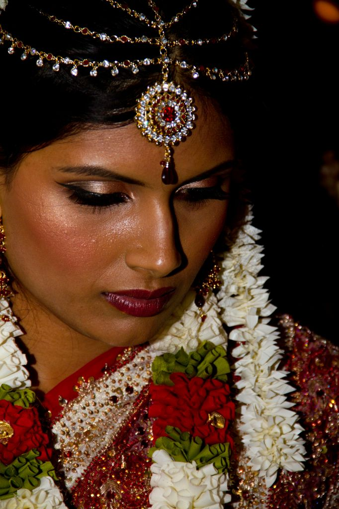 indian wedding portrait